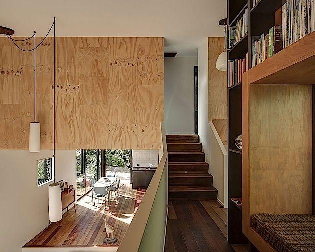 architektur ein kleines gem tliches haus in neuseeland klonblog interesting interior. Black Bedroom Furniture Sets. Home Design Ideas