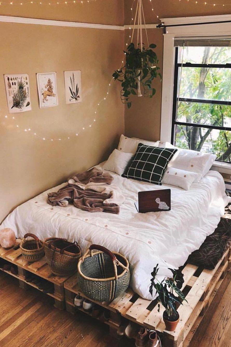 20 Bedroom Designs for a NATURE LOVER   Elcune   Bedroom decor cozy ...