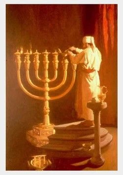 The Beautiful Menorah Lampstand Which Stood In The Temple Of Soloman Long Before The Birth Of The Christ Child Biblical Art Tabernacle Of Moses Ancient Israel