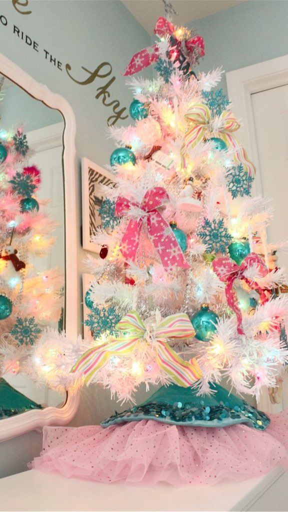 Romantichna Natura On Twitter Pink Christmas Tree Decorations Pink Christmas Mini Christmas Tree