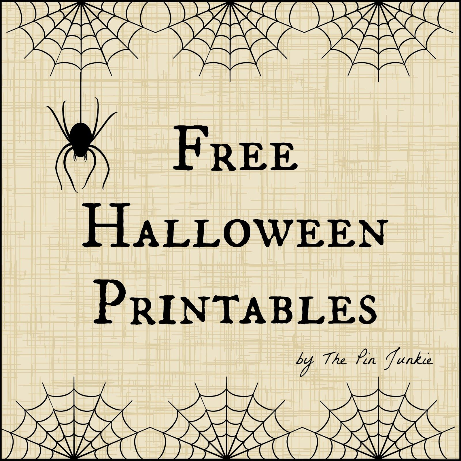 Free halloween printables free halloween printables printables free halloween printables negle Image collections