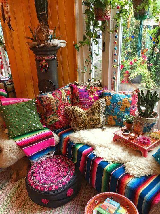 Mexican bedroom   Mexican Interior Design Ideas   Pinterest ...
