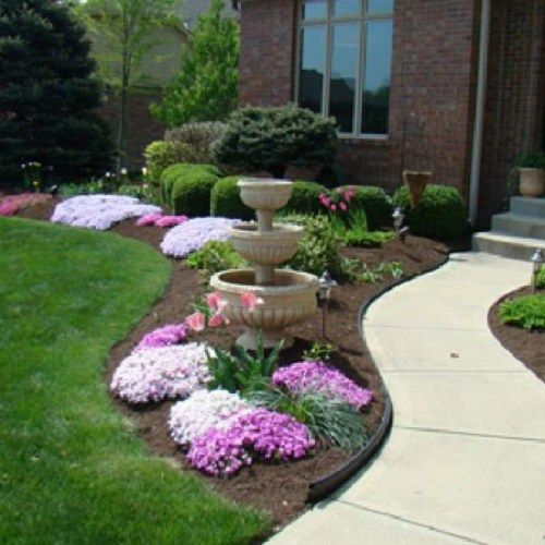 28 Beautiful Small Front Yard Garden Design Ideas: Pin By Chris Montag On Landscaping