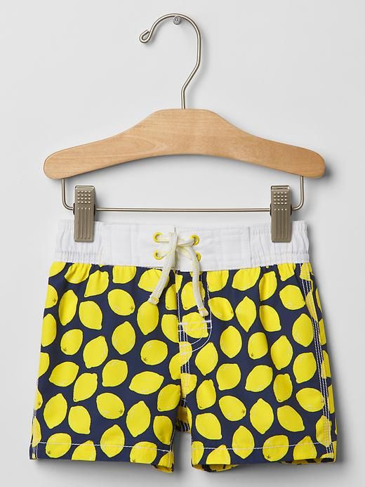 5fd27c5f8f Lemon swim trunks
