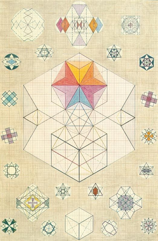 10 geometric art explorations for math learning - 523×800