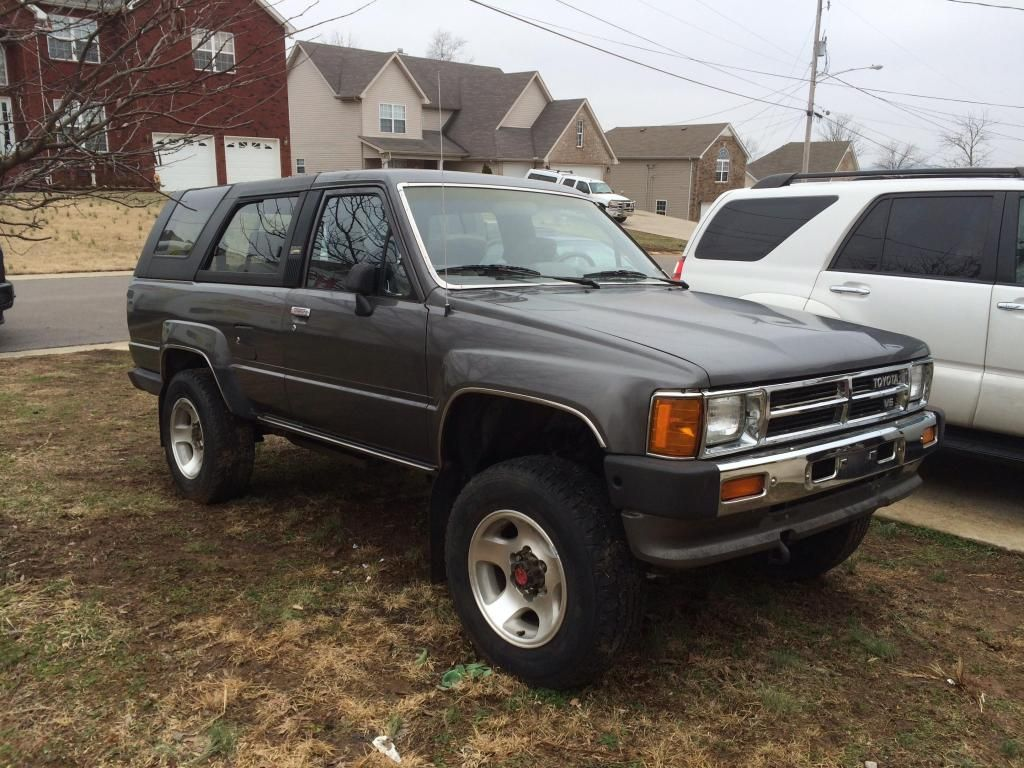 1986 Toyota 4Runner Maintenance Restoration Of Old Vintage Vehicles The Material For New