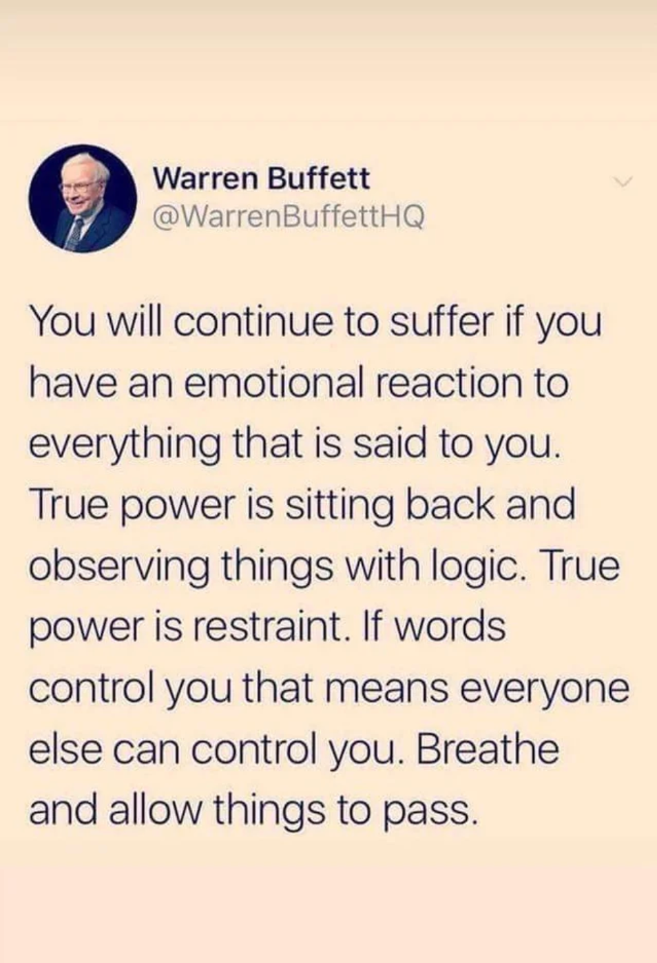Breathe & Allow Things to Pass
