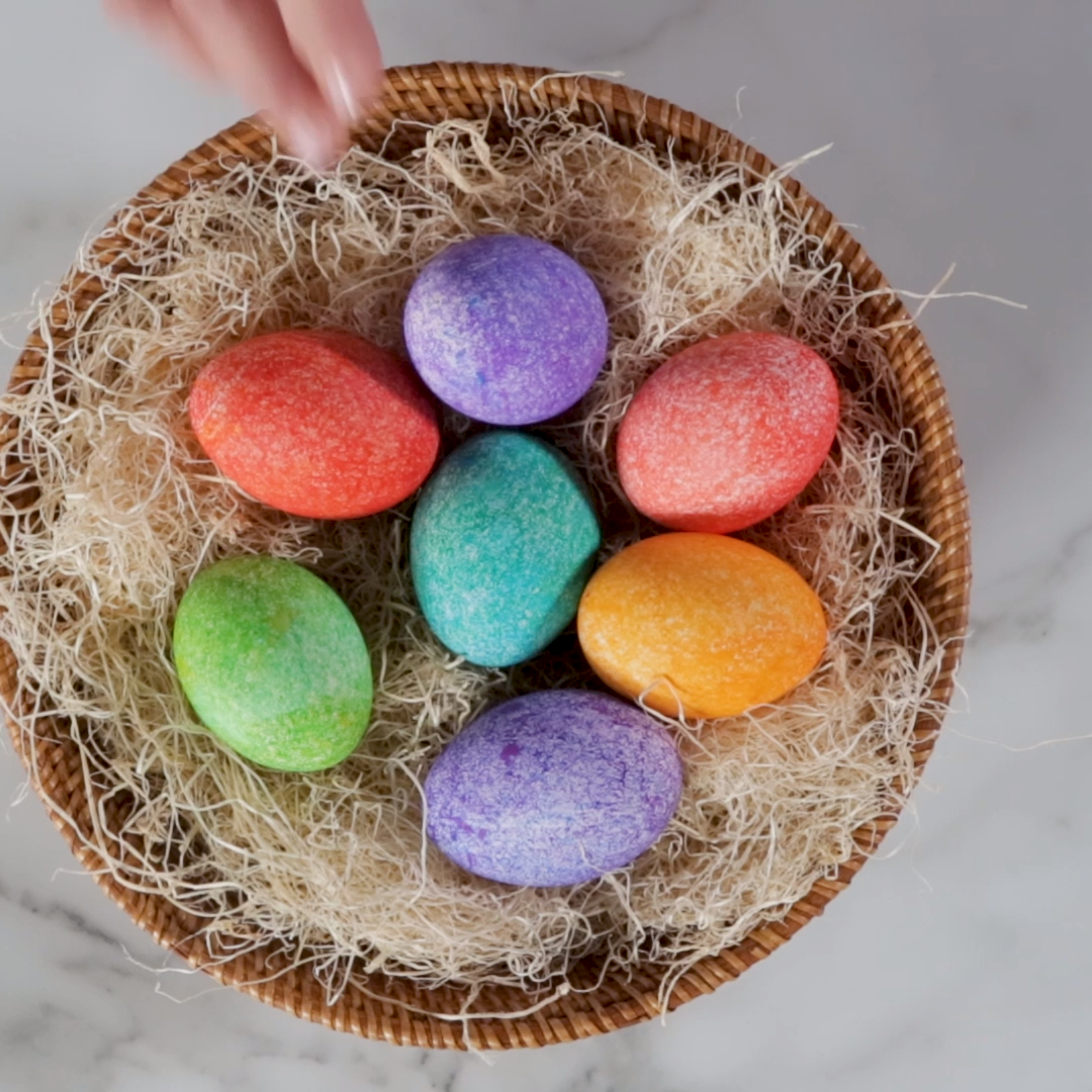 Photo of DIY Dyed Rice Eggs