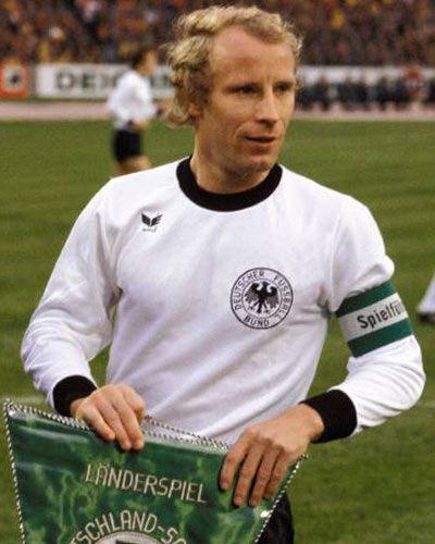 Berti Vogts Deutschland Europameister 1972 Weltmeister