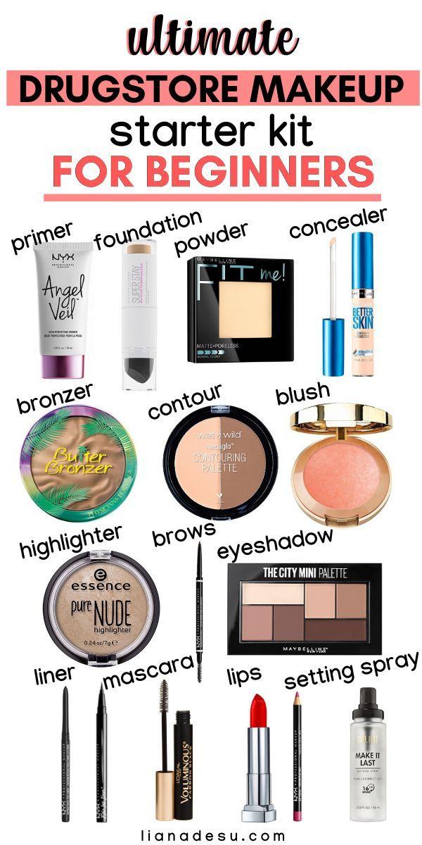 Ultimate Drugstore Makeup Starter Kit for Beginners