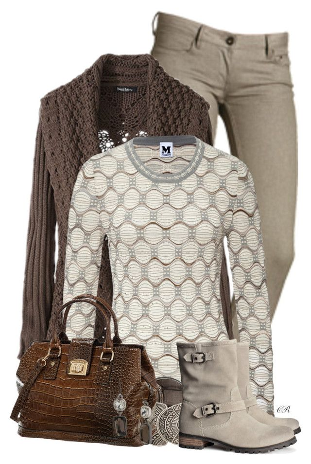 """Grey & Brown II"" by colierollers ❤ liked on Polyvore featuring M Missoni, H&M, David Jones, Kenneth Cole, women's clothing, women, female, woman, misses and juniors"