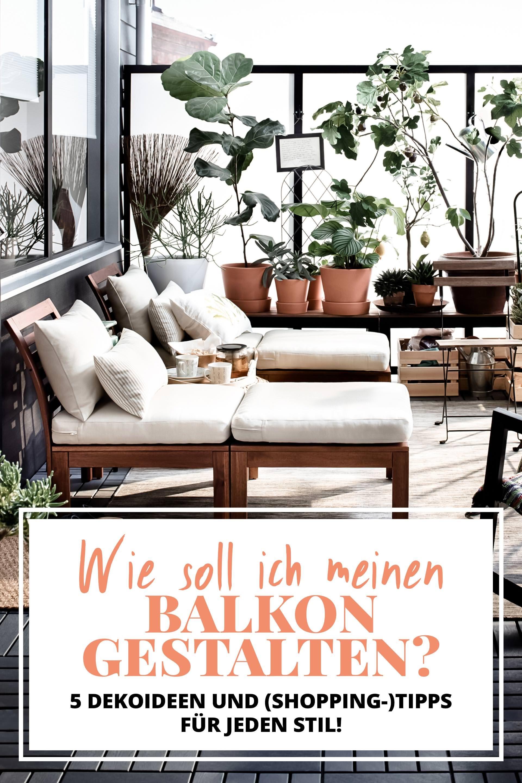 Wie Soll Ich Meinen Balkon Gestalten, Balkon Und Terrasse Günstig  Einrichten Und Dekorieren, Kleinen