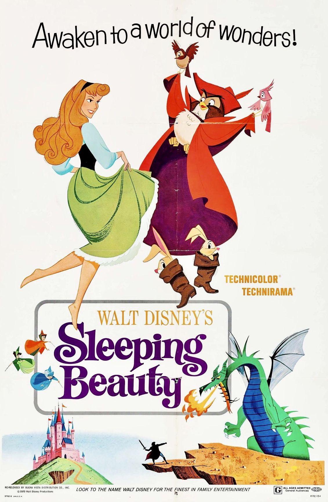 "Walt Disney's ""Sleeping Beauty"" (Buena Vista, R1970"