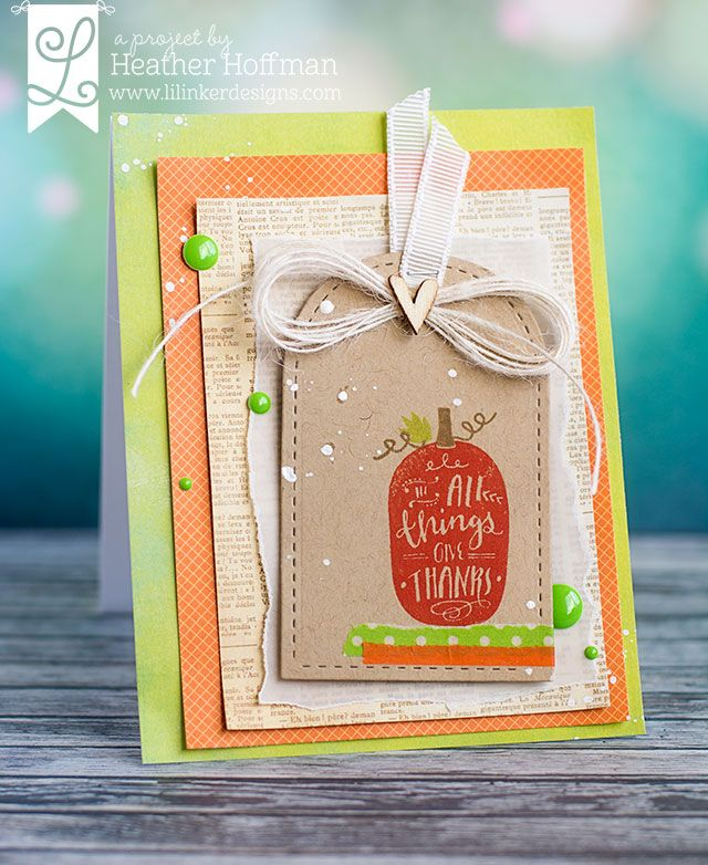Hello! It's time for a new release at Lil' Inker Designs ! Fall is definitely in the air this week with the new release. I don't know abou...