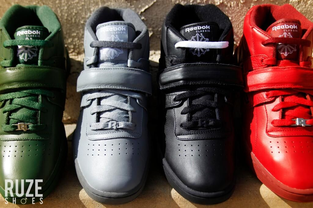 Reebok Classic Mid Straps in all colors