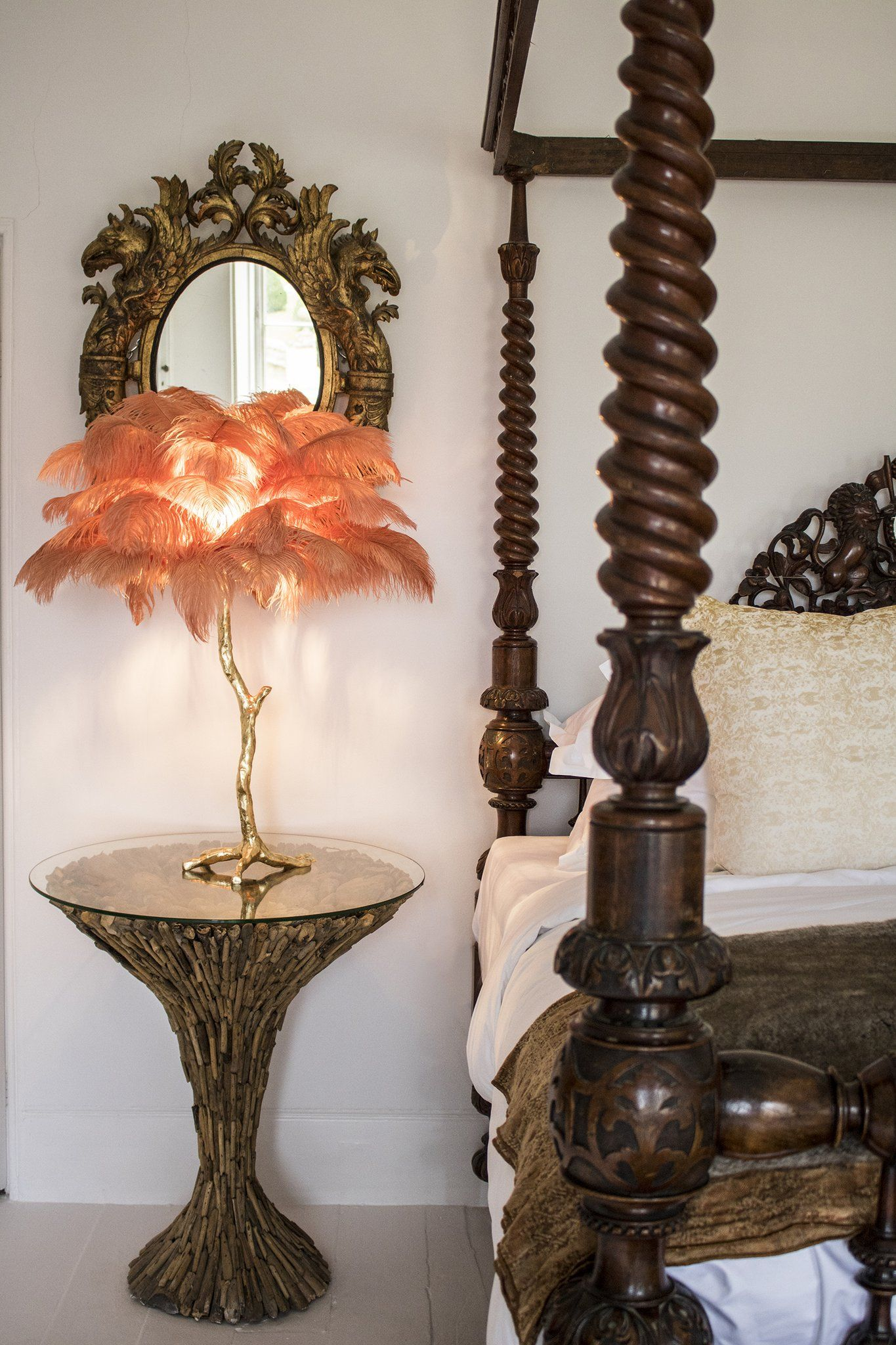 The Feather Lamp Edition Piece By A Modern Grand Tour Our