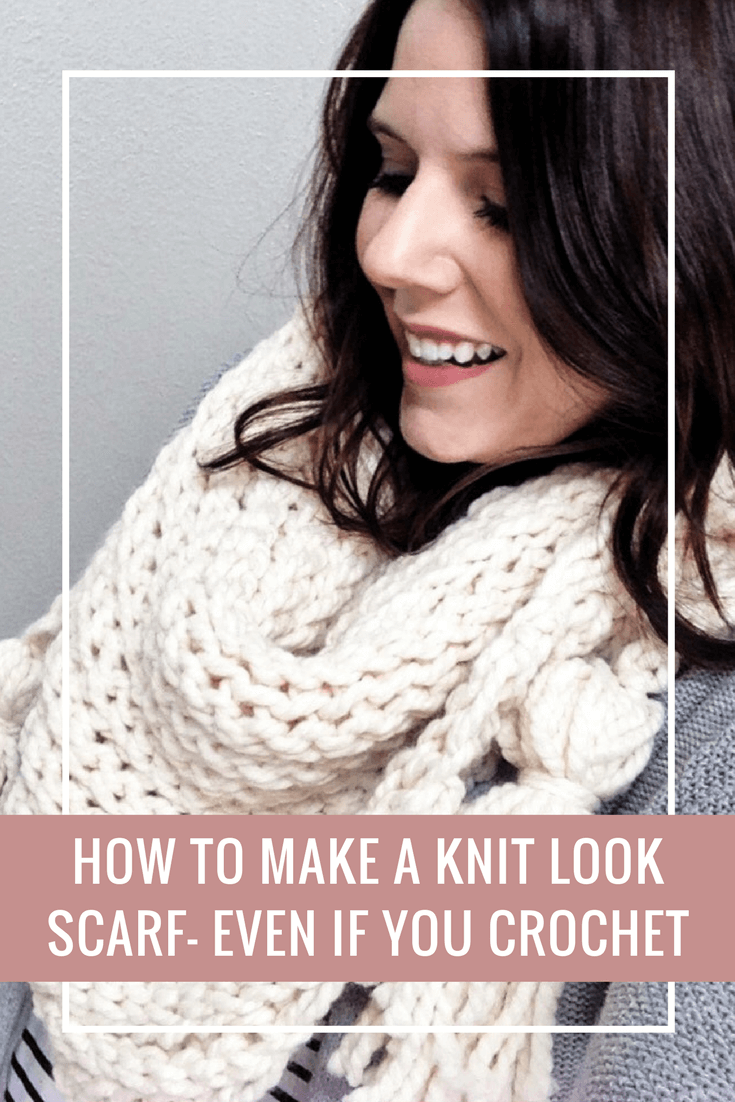 Easy free crochet pattern that uses basic stitches to create a easy free crochet pattern that uses basic stitches to create a knit look scarf beginner bankloansurffo Images