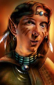 Pin Van Bechereau Loic Op D D Characters Portret