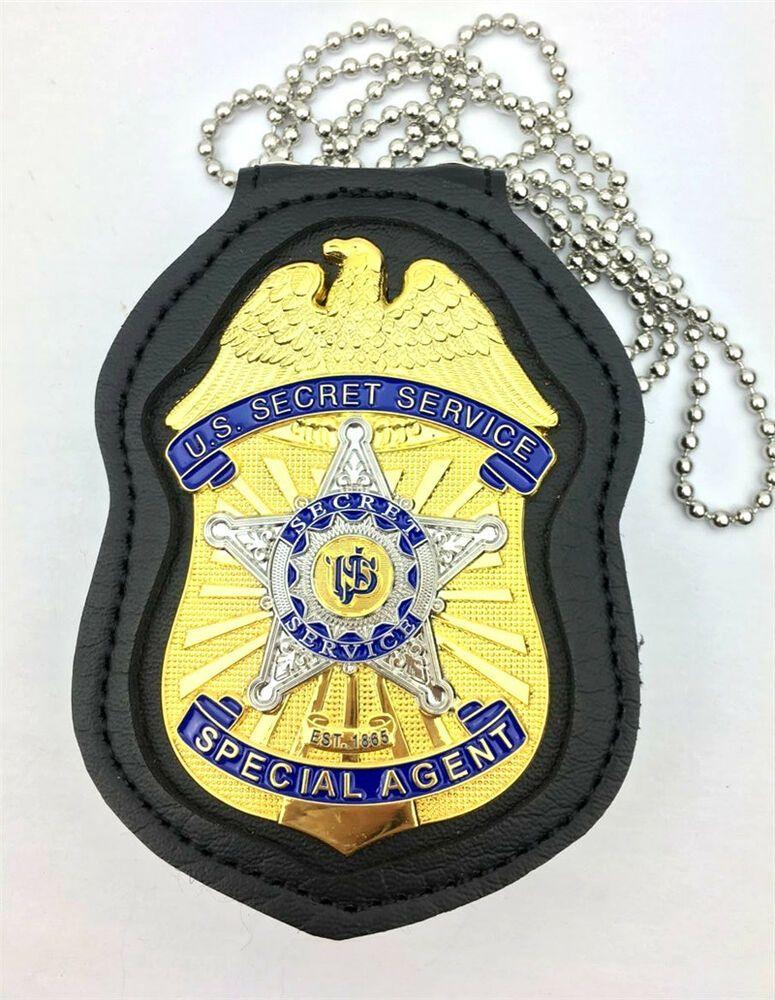 Ebay Sponsored New Us Secret Service Special Agent Badge Metal