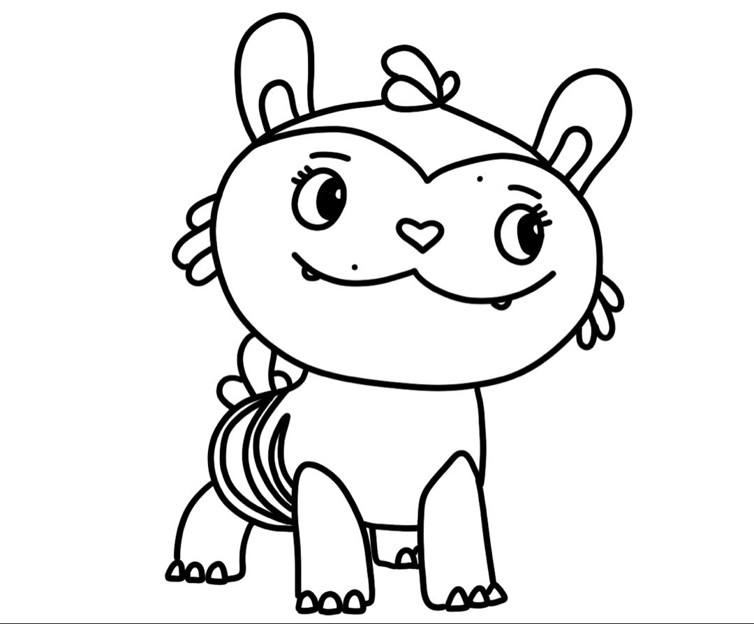 Abby Hatcher Coloring Pages Free Coloring Pages Art Activities Princess Coloring