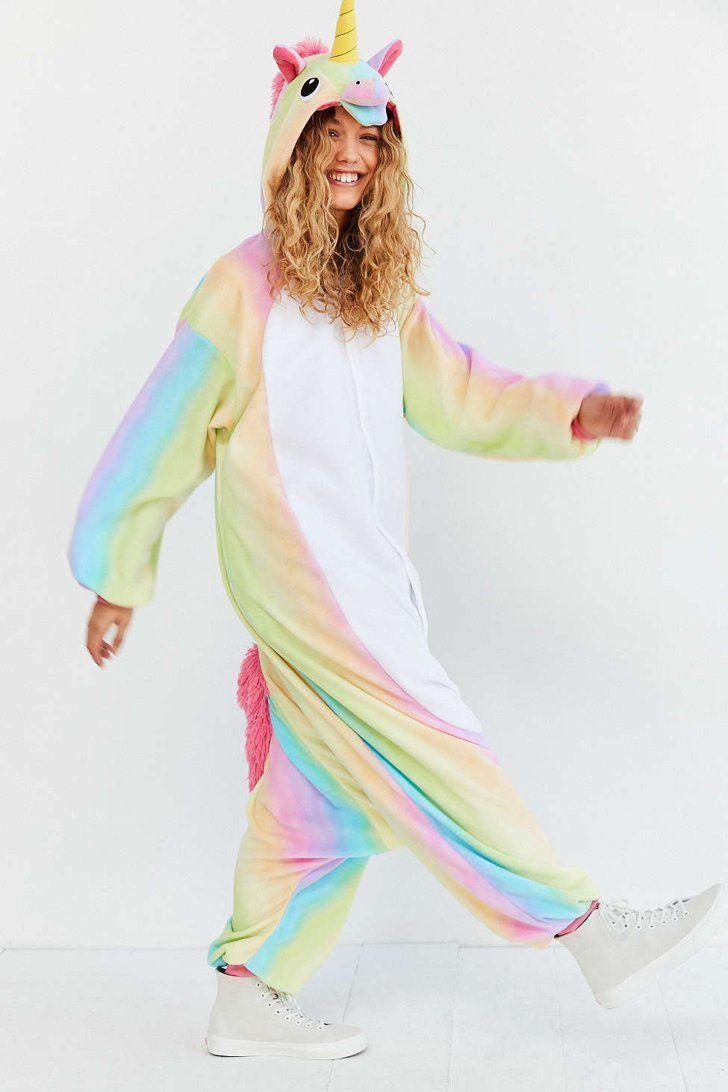 Good 16 Unicorn Costumes You Can Easily Order Online Kigurumi Rainbow Unicorn  Costume ($80)