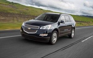 2015 Chevy Traverse Gas Mileage Chevrolet Traverse Chevrolet