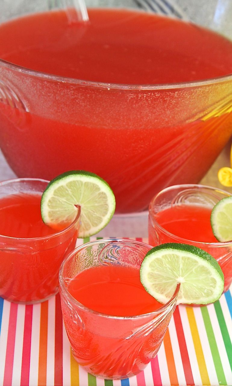 Simple Party Fruit Punch (Non-alcoholic)