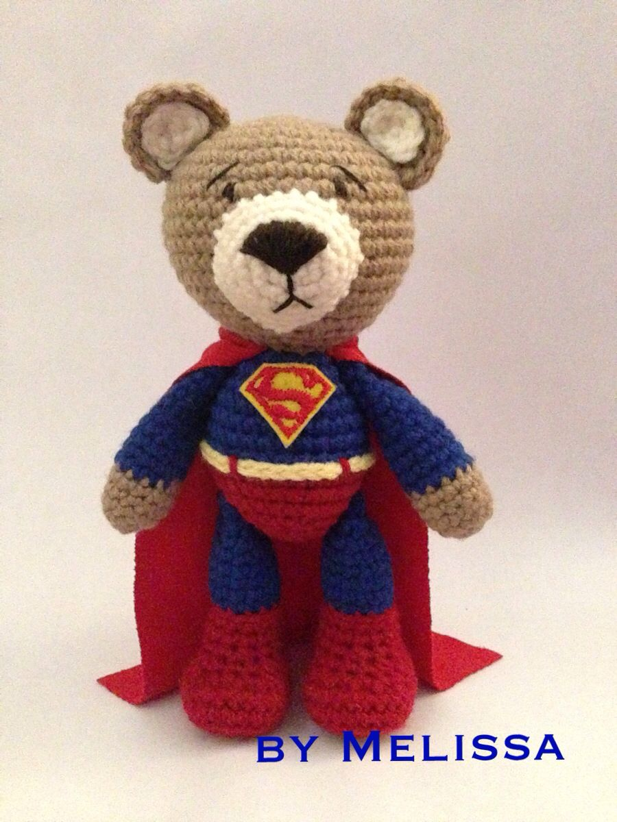 Ravelry: Amigurumi Superman pattern by Dolores Voglesonger | 1200x900
