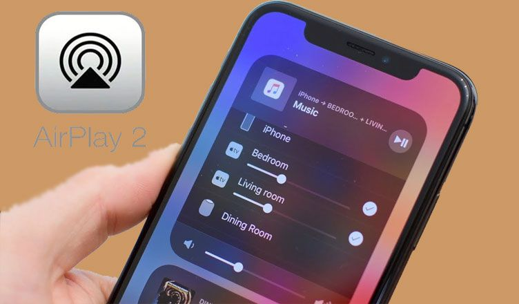 How To Play Music To Multiple Speakers With Airplay 2 Play Music Speaker Music