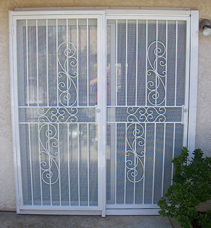 Patio Door Extra Security » Photo Gallery Backyard