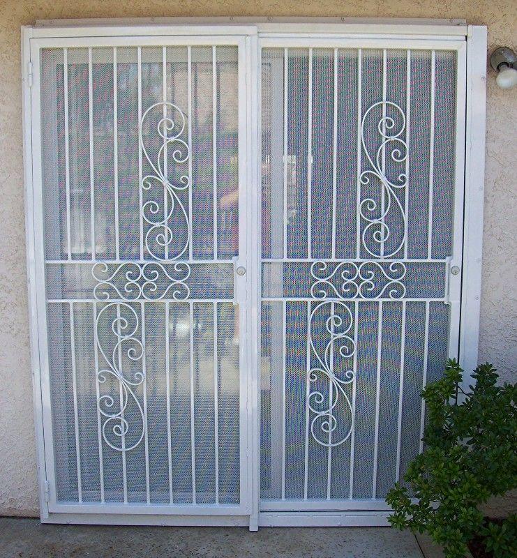 Patio Door Security Photo Gallery Backyard Security Doors
