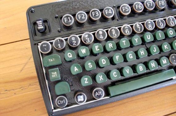 MAGIC TRADE Steampunk typewriter keyboard   Great Stuff