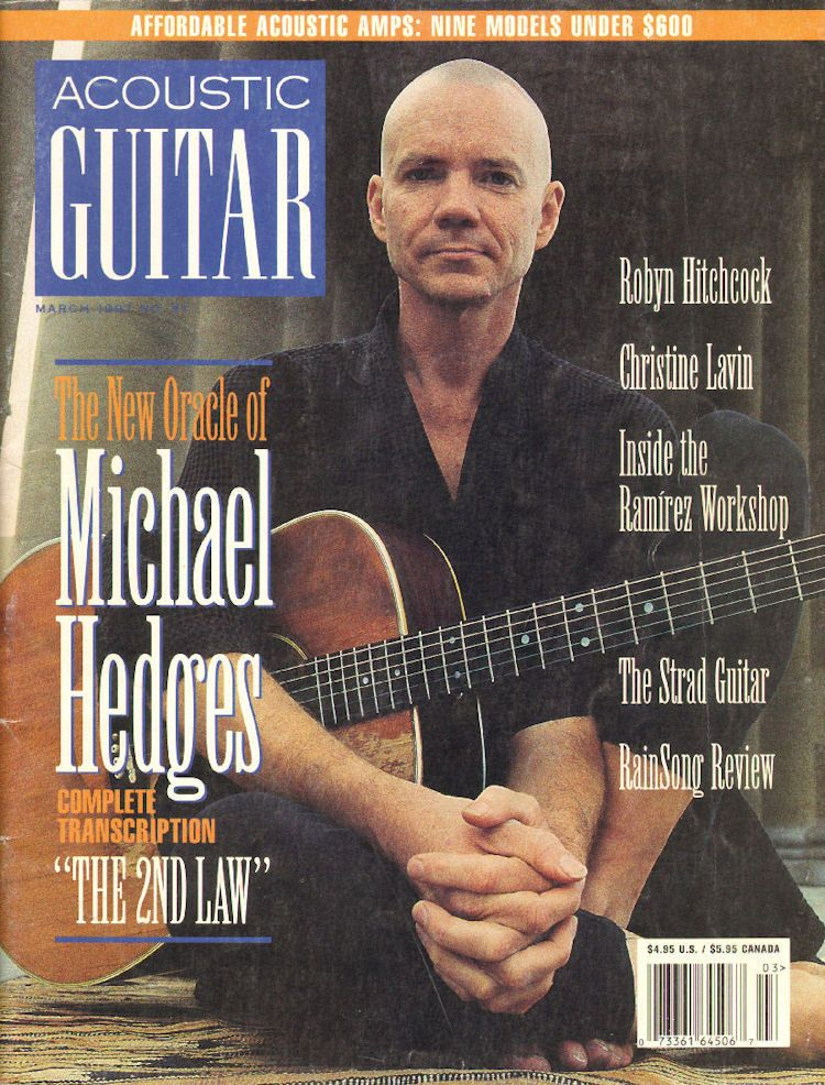 1997 March Acoustic Guitar Magazine Back Issue Guitar Magazine Acoustic Guitar Magazine Acoustic Guitar