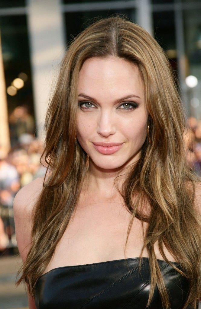 Angelina Jolie Wears Long Waves : 2014 New Hair Style Models | Hair ...