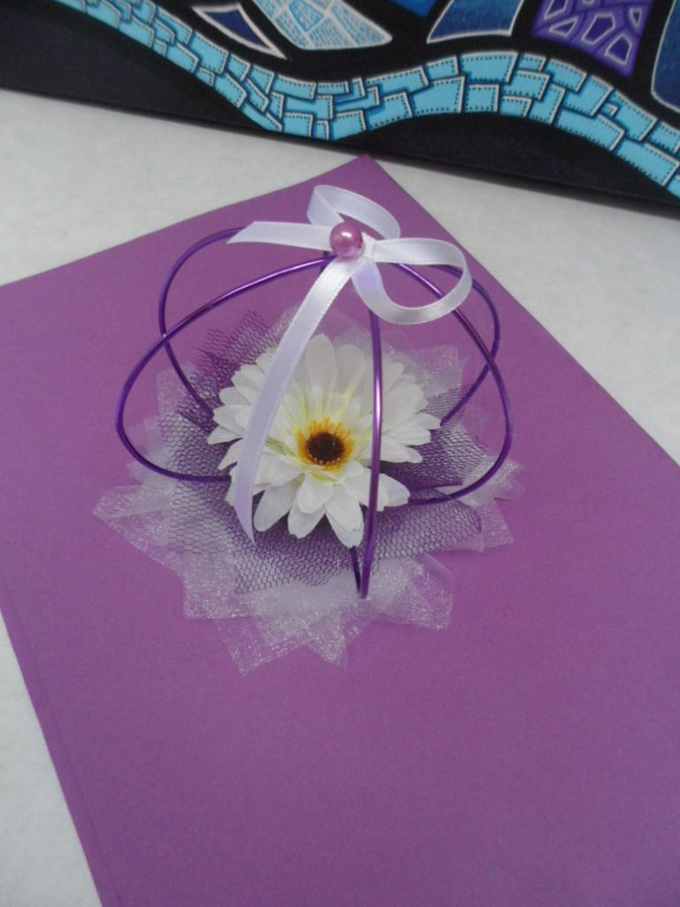 d coration de table pour mariage centre de table violet. Black Bedroom Furniture Sets. Home Design Ideas