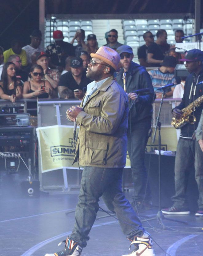 Black Thought in the Riccardo Tisci x Nike Air Force 1
