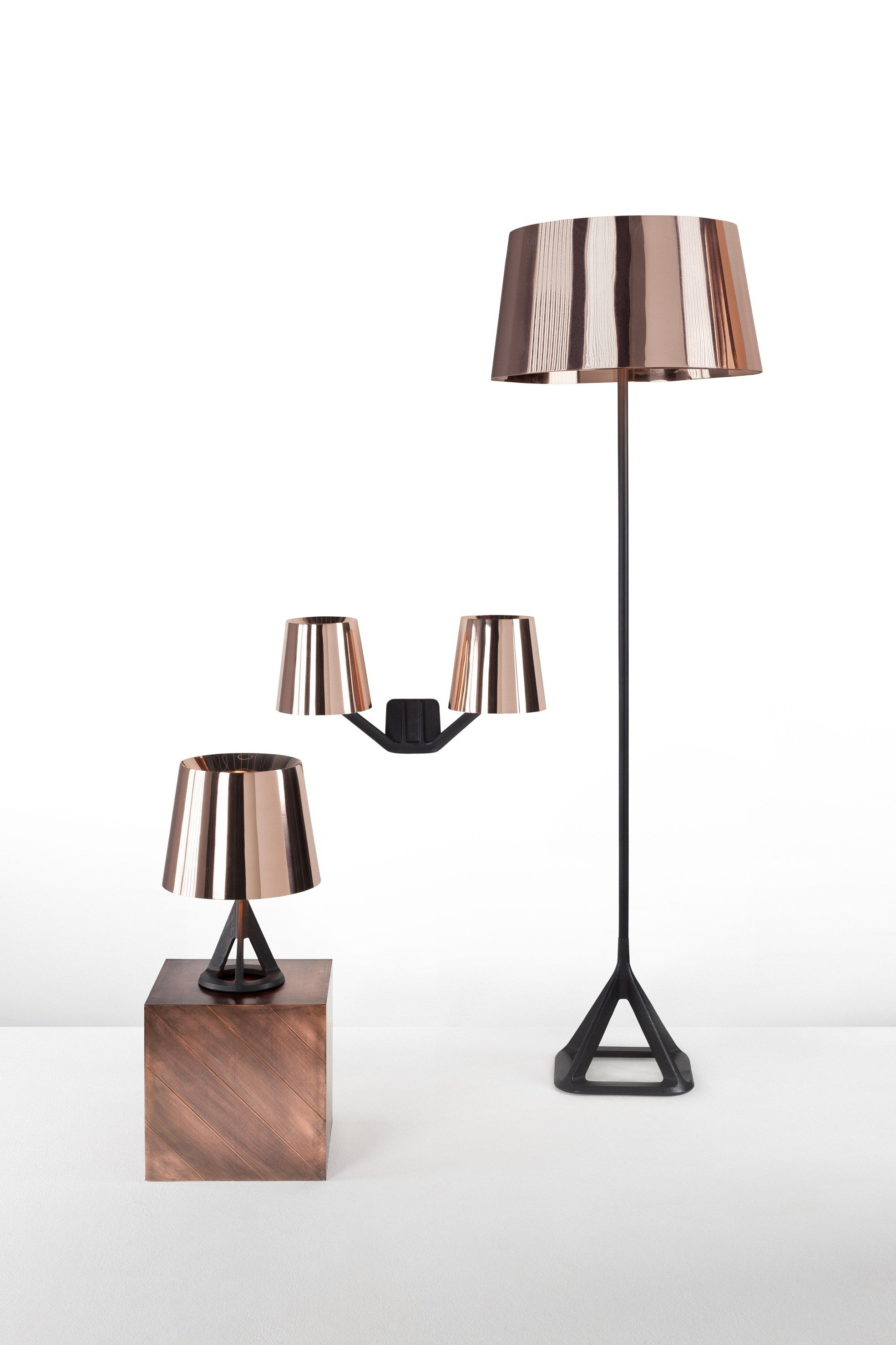 Copper Wall Light Base Copper Wall Light By Tom Dixon Design Tom Dixon Copper Floor Lamp Copper Wall Light Copper Table Lamp