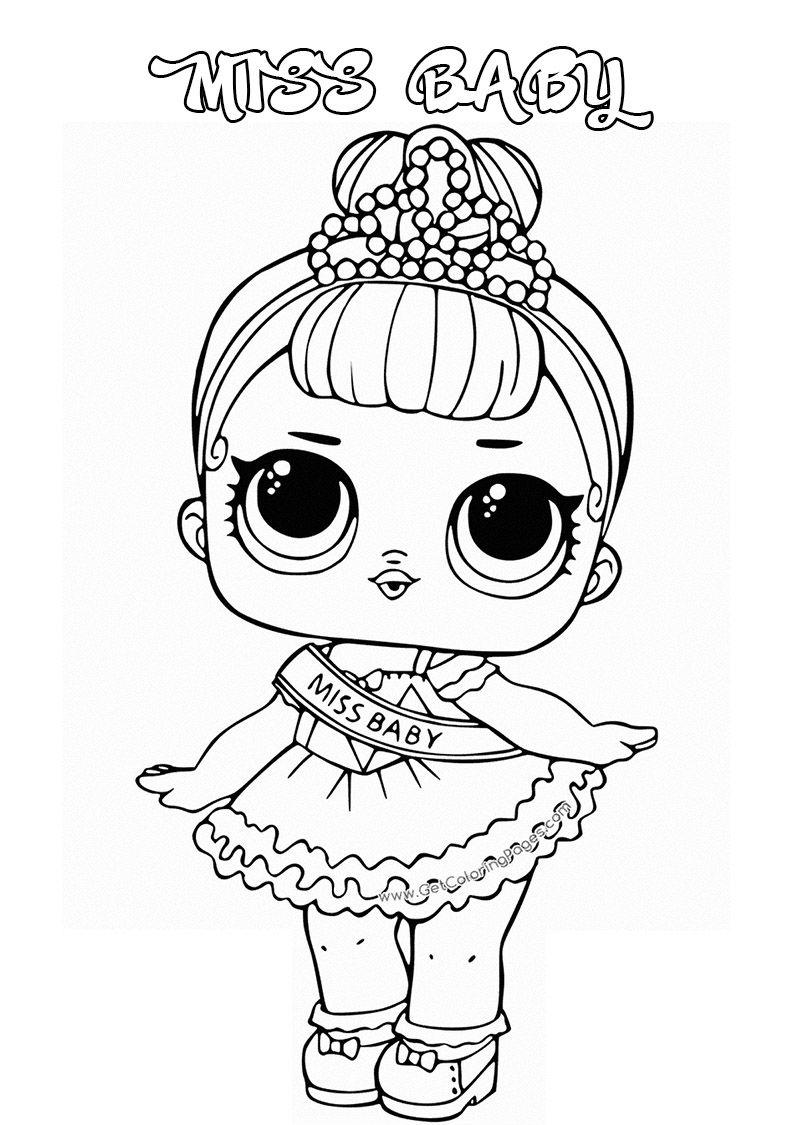 Lol Surprise Doll Para Colorear Imprime Gratis Toda La Serie Poupees Lol Licorne Coloriage Coloriage Licorne A Imprimer