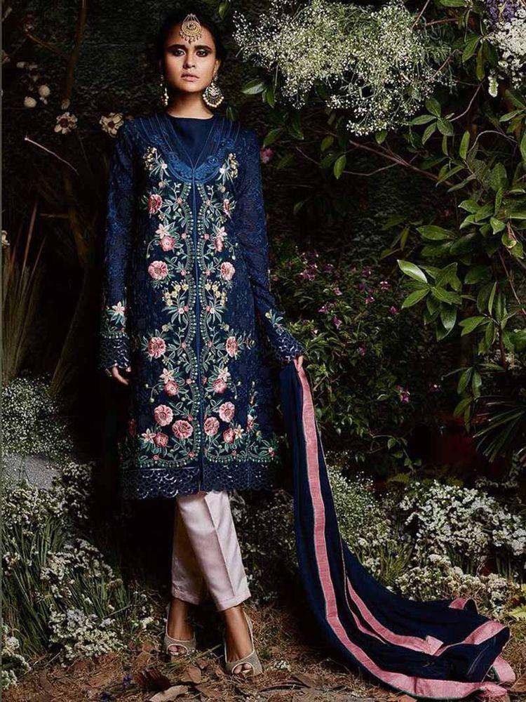 Eid  Collection  2018  Designer  Indian  Pakistani  Party wear  Muslim   Dress  Free Ship  Handmade  Salwarkameez f5ee3e8623a1