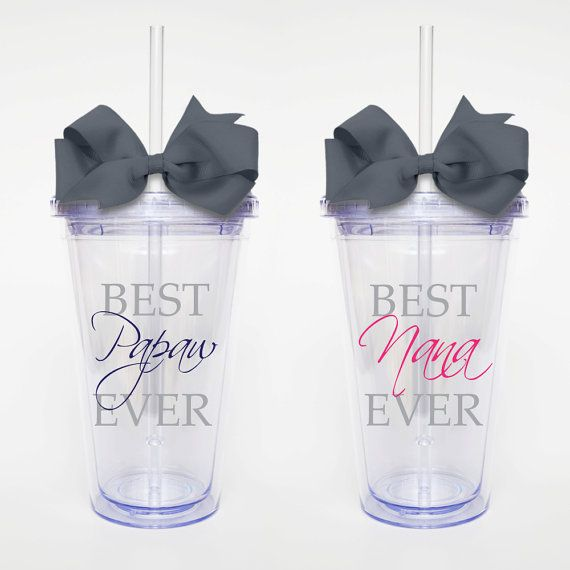 Best Grandparents Ever SET OF 2 Acrylic Tumbler by SweetSipsters