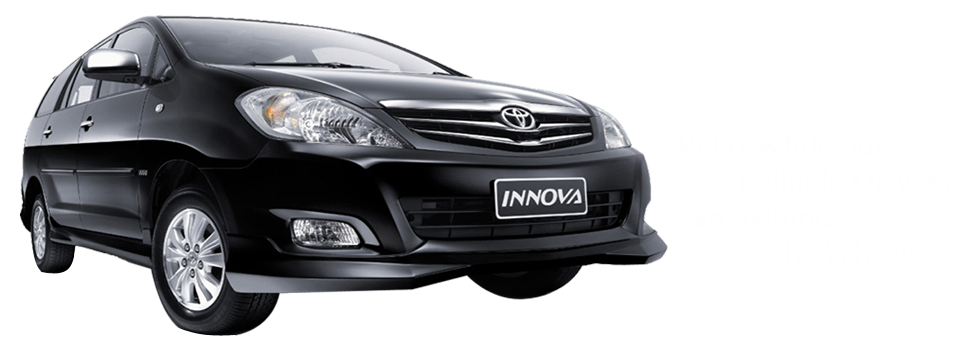Innova car rental service offers you 24/7 taxi services at