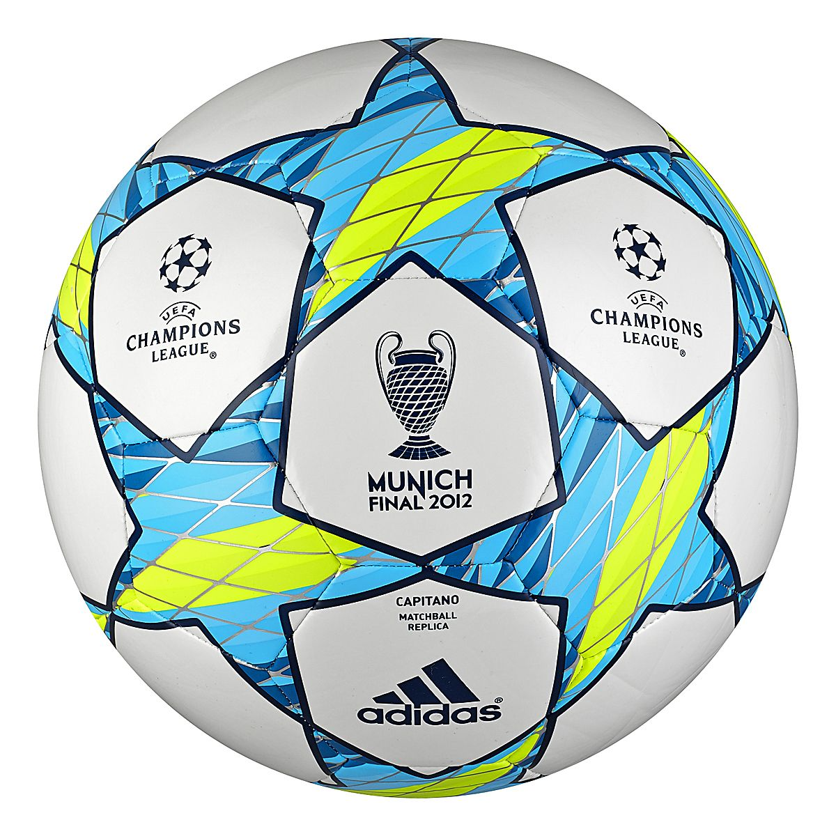 adidas UEFA Champions League Munich Final Capitano Replica Match Soccer Ball d661b0d8808bf