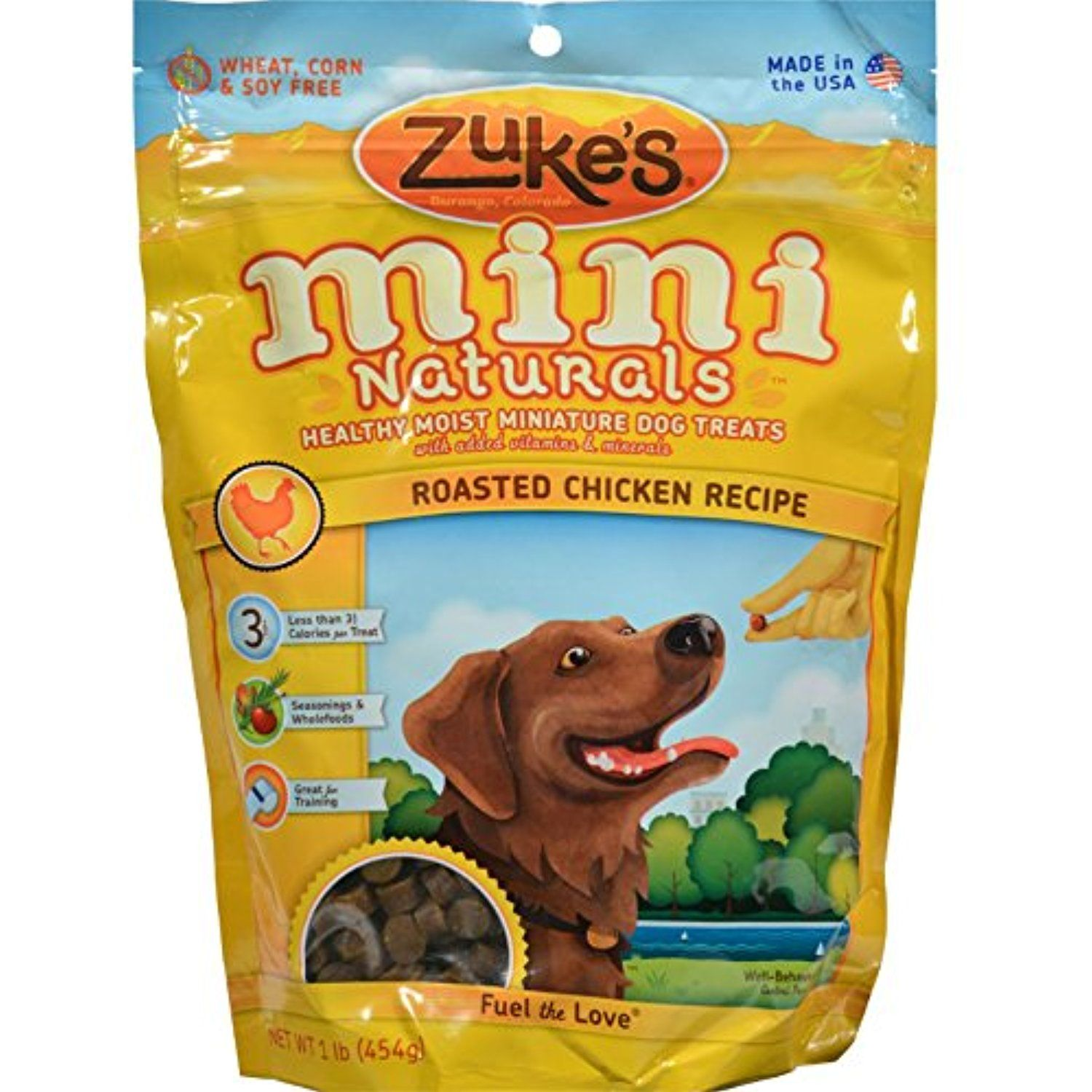Zukes 1 Lb Mini Naturals Roasted Chicken (Pack of 2) You