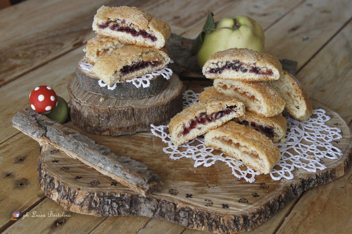 Biscotti di pasta frolla con la marmellata Ricetta
