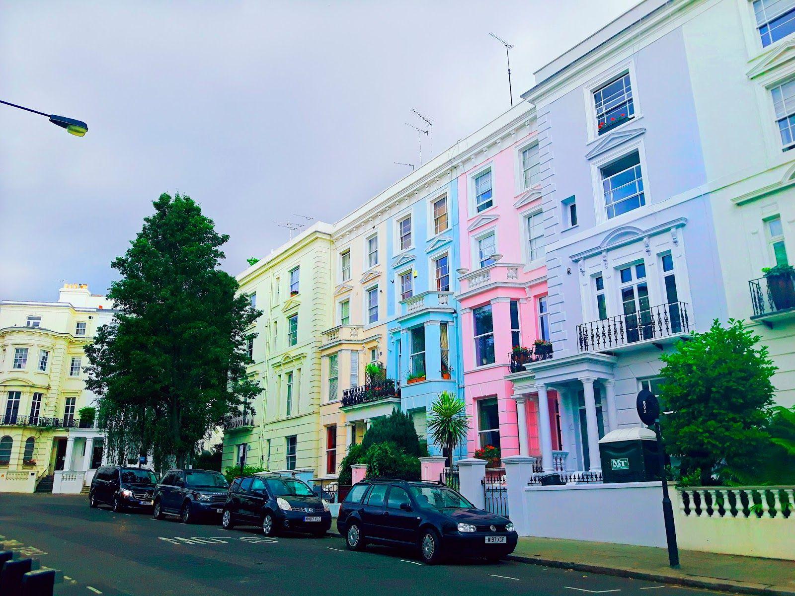 Lugares para visitar em Londres: Portobello Road Market em Notting ...