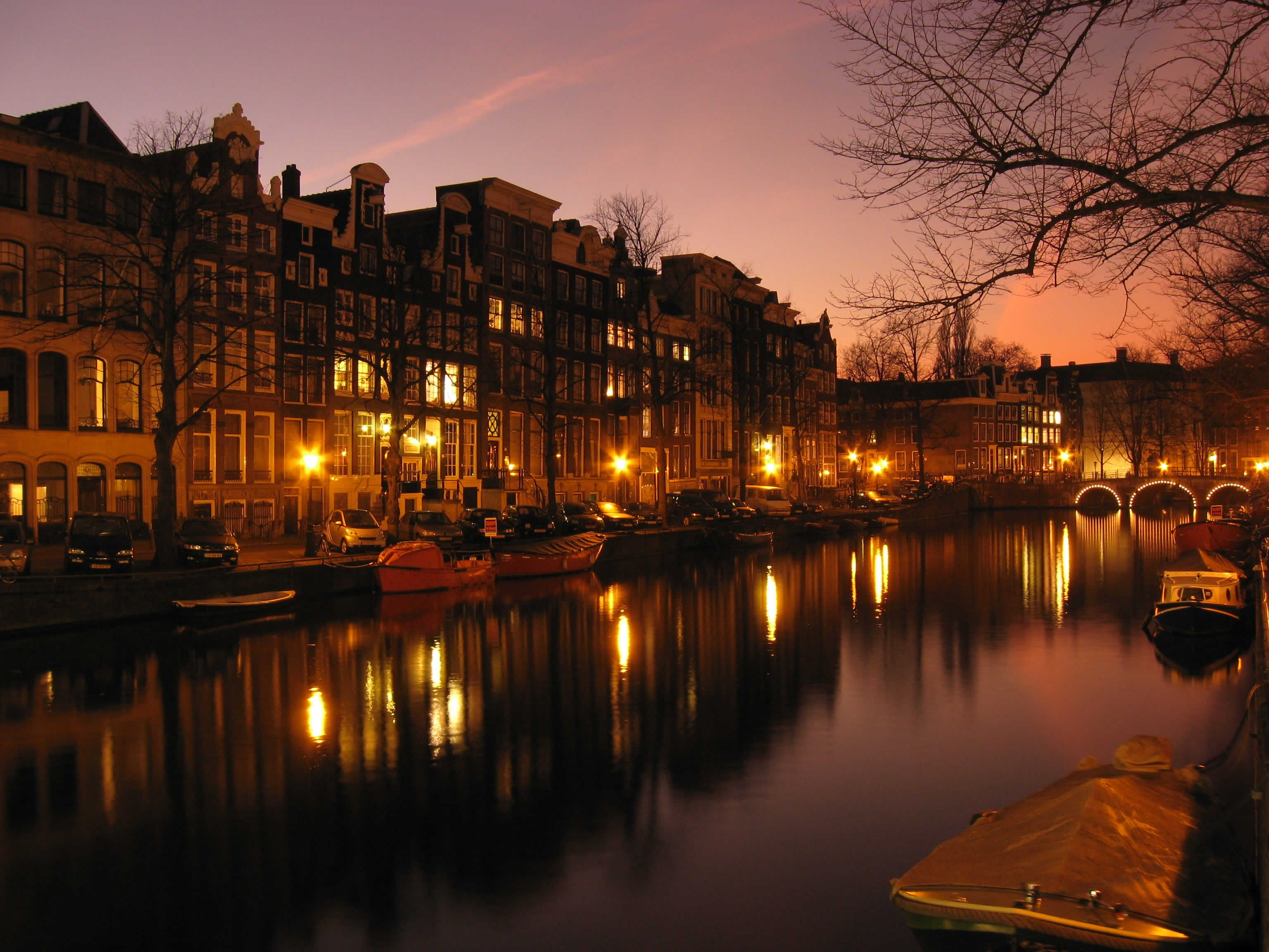"""Amsterdam, Netherlands. Yes, I went there. Yes, I """"went there."""""""