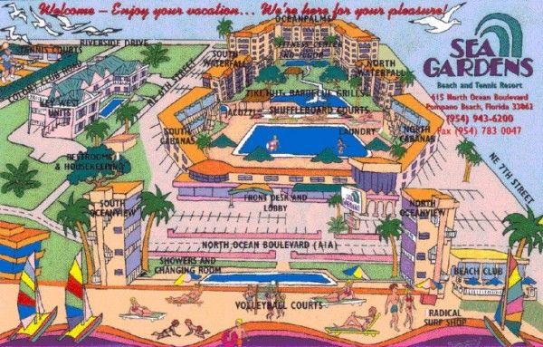 Över 1 000 Bilder Om Pompano Beach Vaca På Pinterestträdgårdar South Miami Och
