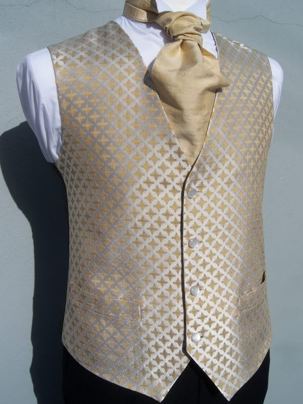 Details About Mens Boys Tudor Gold And Ivory Wedding Dress