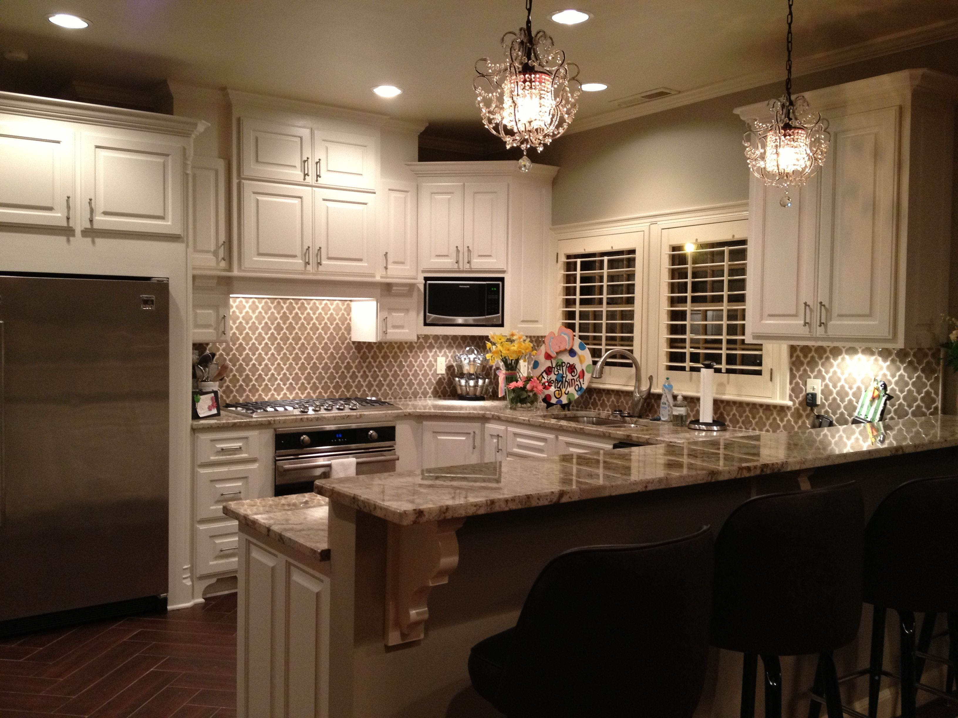 Walker zanger ashbury vibe backsplash, wood grain tile floors ...