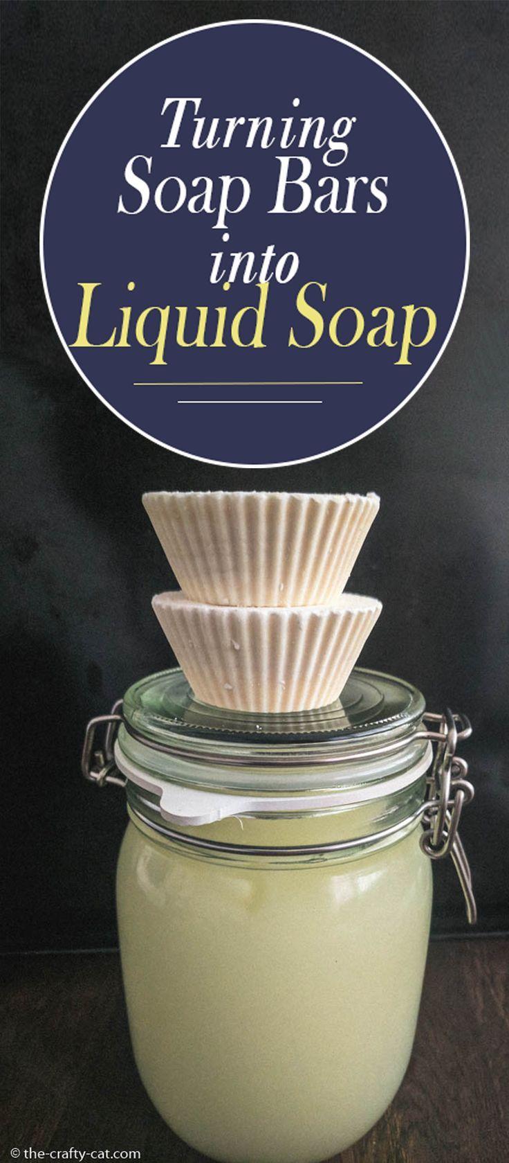 Soap Bars to Liquid Soap Recipe Liquid soap making